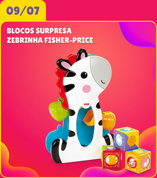 Zebrinha Fisher-Price