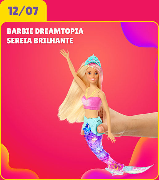 Barbie Dreamtopia Sereia Brilhante