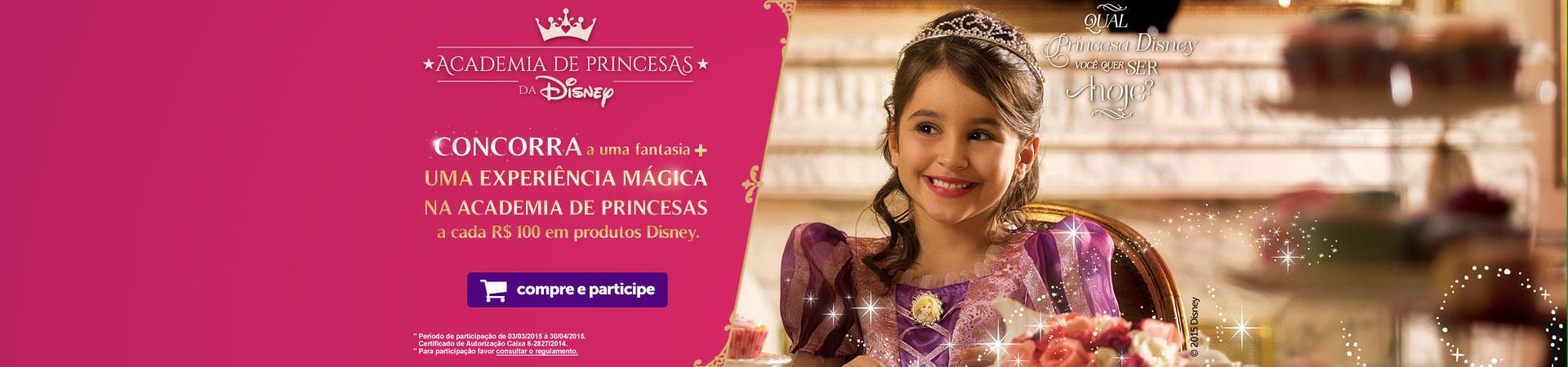 Promoção Academia de Princesas