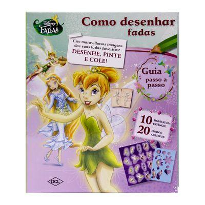 Livro---Como-Desenhar-Fadas-Disney