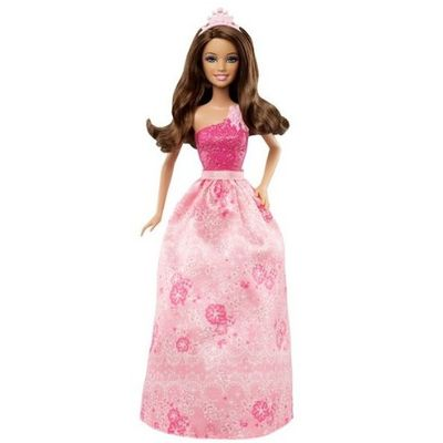 Barbie Princesa Teresa - Vestido Rosa - X9441