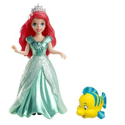 boneca-mini-princesa-ariel-e-linguado-disney-magicclip-mattel-y1088