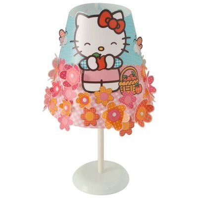 Abajur-Conico-Hello-Kitty