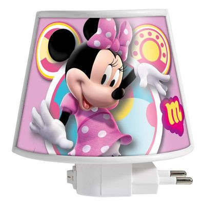 Mini-Abajur-Disney-Minnie-220v