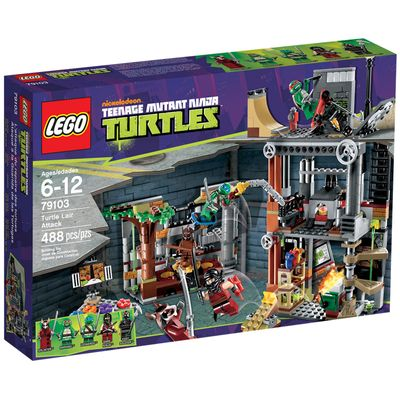 79103---LEGO-Ninja-Turtles---Ataque-a-Toca-das-Tartarugas