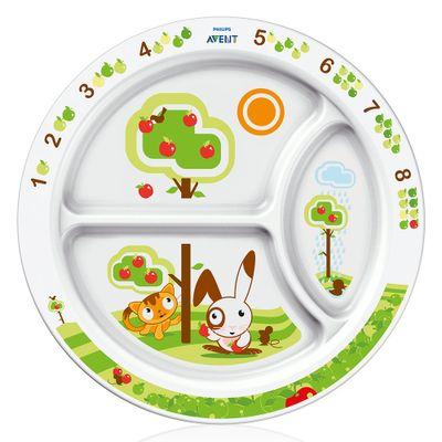 Prato-Infantil-com-Divisoria-Philips-Avent