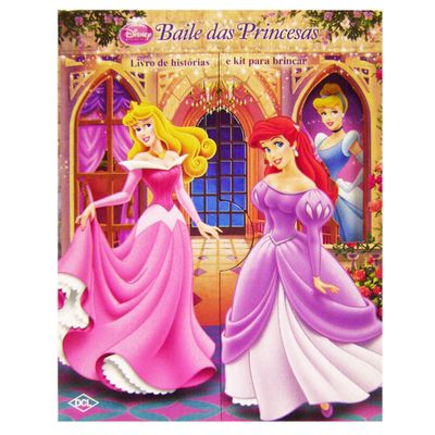 Livro-e-Kit-para-Brincar-Princesas-Disney-Baile-das-Princesa