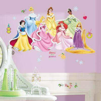 adesivo-de-parede-princesas-disney-inverno-roommates