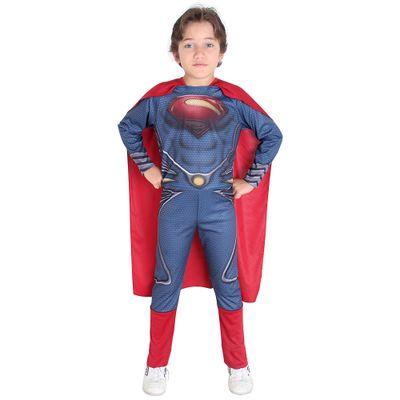fantasia-standard-superman-man-of-steel-tamanho-g-sulamericana
