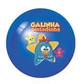Bola-de-Vinil-Decorada-Azul-Estrela--Galinha-Pintadinha--Lider
