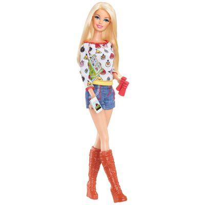 Boneca Barbie Angry Birds - Look 1 - Mattel