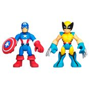 Mini-Bonecos-Marvel-Super-Heroes-Capitao-America-e-Wolverine-Hasbro