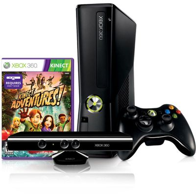 Console-Xbox-360-4GB---Controle-sem-Fio-e-Kinect