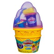 Massinha-Play-Doh---Cone-Sorvete-Lilas---Hasbro