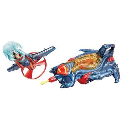 Boneco-e-Nave-Veiculo-Superman-Nave-Lancadora-Mattel