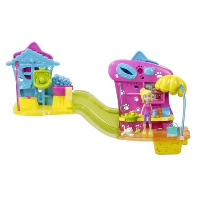 Boneca-Polly-Pocket-Wall-Party-Mundo-Divertido-Pet-Shop-Mattel
