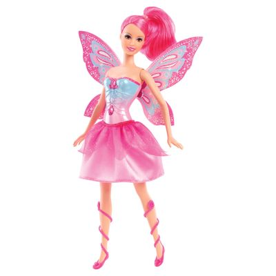 Pré-Venda - Boneca Barbie - Butterfly e a Princesa Fairy Rosa - Mattel