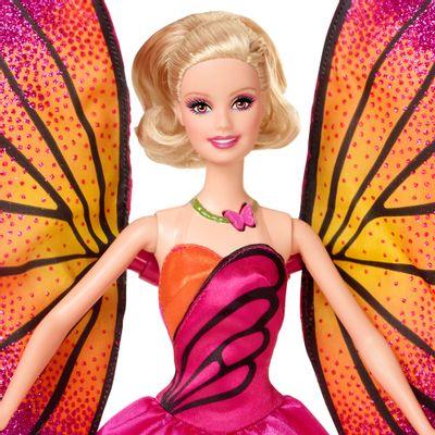 Pré-Venda - Boneca Barbie Butterfly e a Princesa Fairy - Barbie Butterfly - Mattel