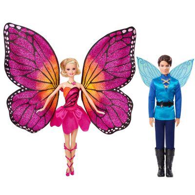 Pré-Venda - Bonecas Barbie Butterfly e a Princesa Fairy - Casal Butterfly - Mattel