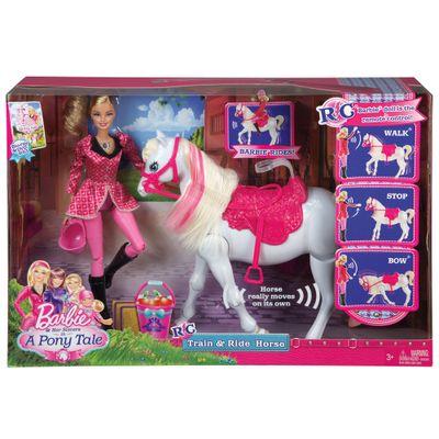 Boneca Barbie Family - Cavalo Adestrado - Mattel