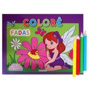 Livro---Colore-Fadas---Girassol