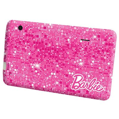 Tablet Barbie Fantastic Pad Android 4.1 Wi-Fi Tela 7 Touchscreen e Memória Interna 8GB - Candide