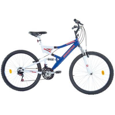 Bicicleta-Aro-26-Stinger-Azul-e-Branca-Houston