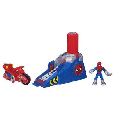 Lancador-Propulsor-Playskool-Heroes-Spider-Man-Hasbro