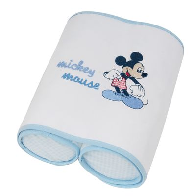Protege-Bebe-Mickey-Azul-e-Branco-Minasrey