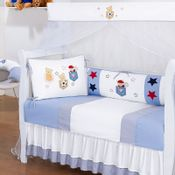 Kit-para-Berco-Ursinho-Esportista-Branco-e-Azul-Esconde-Esconderijo