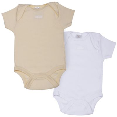 Kit-Body-Basico-em-Suedine---2-Pecas---Amarelo-e-Branco---Up-Baby---A0600