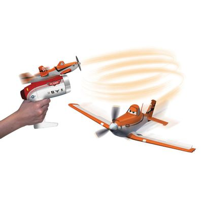 Disney-Avioes-Powered-Lancador-Eletrico-Dusty-Yellow
