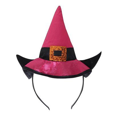 Acessorios-Halloween---Mini-Chapeu-Bruxa-Pink---Sulamericana
