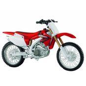Moto-Honda-CRF-450R-Kit-de-Montagem-1-12-Maisto