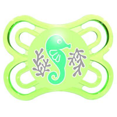Chupeta-Perfect-Silicone---Fase-1---Verde---MAM