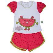 Pijama-Miss-Melancia---Branco-e-Estampado---Cara-de-Crianca---0686U