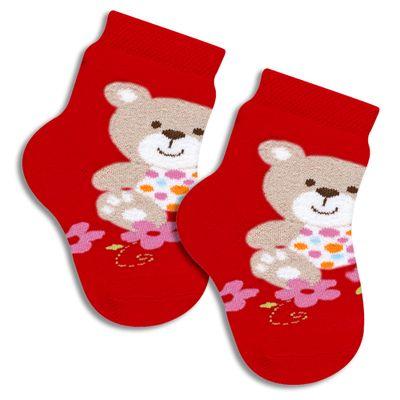 Meia-Infantil-Ursa-e-Flores---Vermelha---Lupo---2000-070