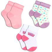 Kit-com-3-Meias-Infantis-Lisa-e-Bolinhas---Lupo---2000-089