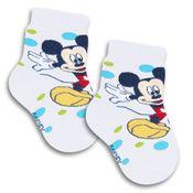 Meia-Cano-Curto-com-Bolinhas---Mickey---Branca---Lupo---2088-016