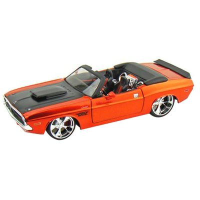 Carro-Colecionavel---Pro-Rodz---Dodge-Challenger-RT-Convertible-1970---1-24-Maisto