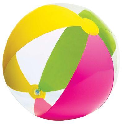 Bola-de-Praia-Paraiso---Verde-Rosa-e-Amarela---Intex