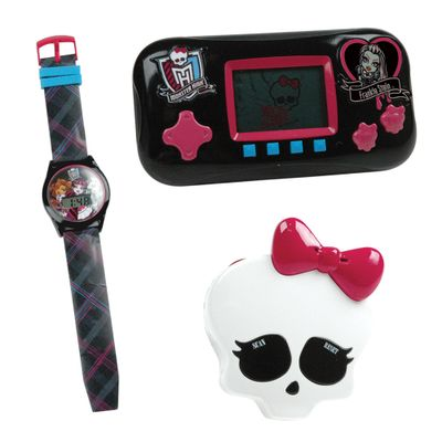 Combo-Monster-High-Mini-Game-Relogio-e-Radio-Frankie-Stein-Candide