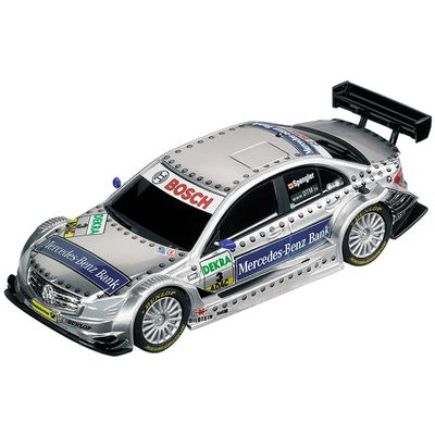 Carro-para-Pista-Eletrica---AMG-Mercebes-C-DTM-07-M-Benz-Bank-2008-Team-B.-Spengler---1-43---Carrera
