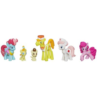 Mini-Colecao-My-Little-Pony---Simpaticos-Bebes-da-Familia-Cake---Hasbro---A4684