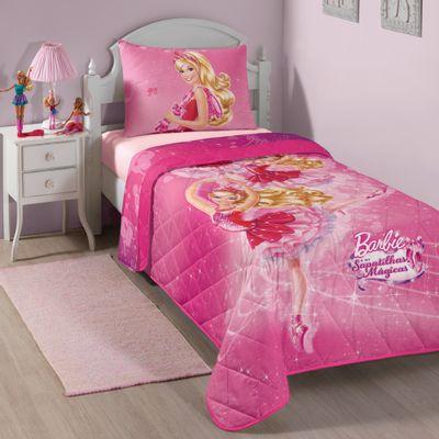 Colcha-Matelasse---Barbie-e-as-Sapatilhas-Magicas---150-x-210-cm---Lepper---4557601