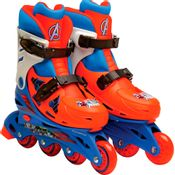 Patins-In-Line-Ajustaveis-Avengers-Tamanho-29-a-32-DTC
