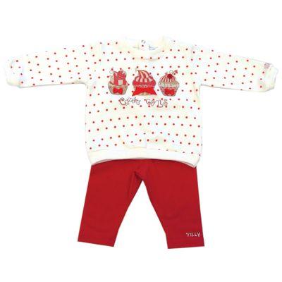Conjunto-de-Moletom-Cupcakes---Creme-e-Vermelho---Tilly-Baby---142208
