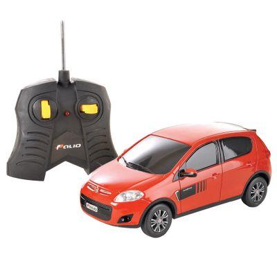 Carrinho-de-Controle-Remoto---Fiat-Novo-Palio-Vermelho---CKS---P346