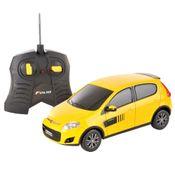 Carrinho-de-Controle-Remoto---Fiat-Novo-Palio-Amarelo---CKS---P346