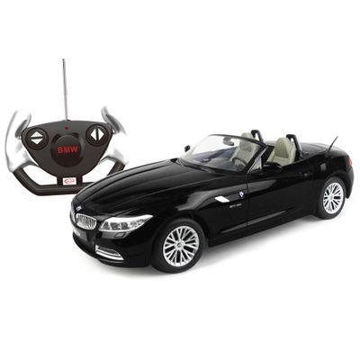Carrinho-de-Controle-Remoto---BMW-Z4-Preta---1-12---CKS---40300